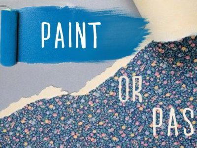 Should you use paint or wallpaper?