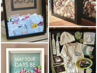 Capture the Memories of Your Life In Shadow Boxes